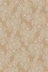 Journal Floral Lace Kraft Design: (Notebook, Diary, Blank Book)