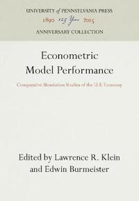 Econometric Model Performance