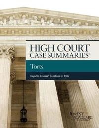 High Court Cases Summaries Torts, Keyed to Prosser