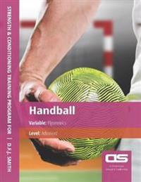 DS Performance - Strength & Conditioning Training Program for Handball, Plyometrics, Advanced