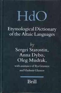Etymological Dictionary of the Altaic Languages