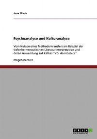 Psychoanalyse Und Kulturanalyse