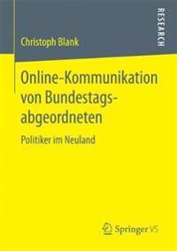 Online-Kommunikation Von Bundestagsabgeordneten