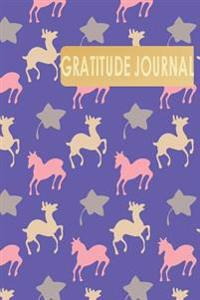 Gratitude Journal: Gratitude Diaries & Daily Self Reflection for Busy Person, Little Funny Foal