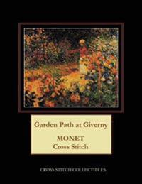 Garden Path at Giverny: Monet Cross Stitch Pattern