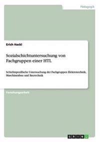 Sozialschichtuntersuchung Von Fachgruppen Einer Htl
