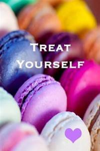 Treat Yourself: 150 Lined Pages, Macaron Notebook