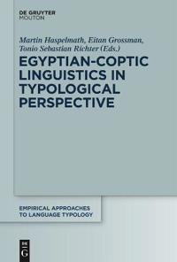 Egyptian-coptic Linguistics in Typological Perspective
