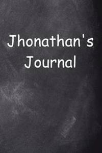 Jhonathan Personalized Name Journal Custom Name Gift Idea Jhonathan: (Notebook, Diary, Blank Book)