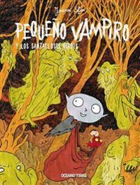 Pequeño vampiro y los santacloses verdes/ Little Vampire and the green Santa Clauses