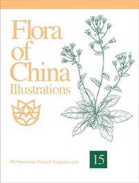 Flora of China Illustrations, Volume 15: Myrsinaceae Through Loganiaceae