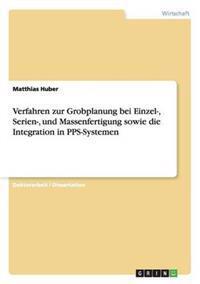 Verfahren Zur Grobplanung Bei Einzel-, Serien-, Und Massenfertigung Sowie Die Integration in Pps-Systemen