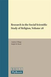 Research in the Social Scientific Study of Religion, Volume 28