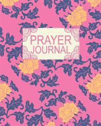 Prayer Journal: 100 Days Writing Down a Letter to God, Vintage Goldenrod Blossom, 6 X 9, 100 Pages