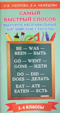 Samyj bystryj sposob vyuchit nepravilnye anglijskie glagoly