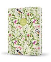 2018 Recipe Diary Birds Design