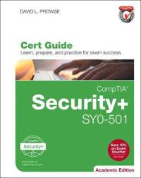 CompTIA Security+ SYO-501 Cert Guide, Academic Edition