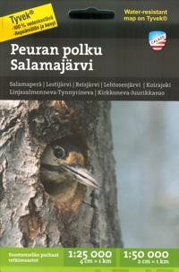 Peuran polku-Salamajärvi 1:25 000/1:50 000