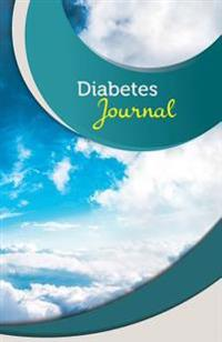 Diabetes Journal: 50 Pages, 5.5 X 8.5 Blue Skies