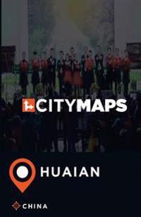 City Maps Huaian China