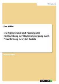 Die Umsetzung Und Prufung Der Entflechtung Der Rechnungslegung Nach Novellierung Des 6b Enwg