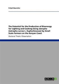 The Potential for the Production of Bioenergy for Lighting and Cooking Using Jatropha (Jatropha Curcas L. Euphorbiaceae) by Small Scale Farmers on the Kenyan Coast