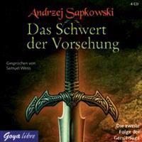 Sapkowski, A: Schwert der Vorsehung/4 CDs