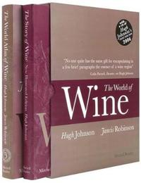 The World of Wine: The World Atlas of Wine/The Story of Wine [With CD of Hugh Johnson's Pocket Wine Book 2006]
