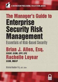 Manager's Guide to Enterprise Security Risk Management
