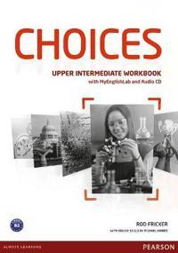 Choices Upper Intermediate Workbook + MyLab Pincode Pack BENELUX
