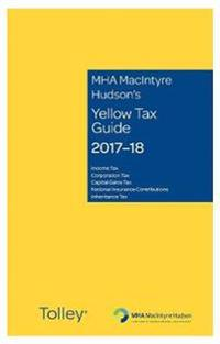MHA MacIntyre Hudson's Yellow Tax Guide 2017-18