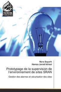 Prototypage de la supervision de l'environnement de sites SRAN