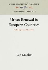 Urban Renewal in European Countries
