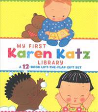 My First Karen Katz Library: Peek-A-Baby; Where Is Baby's Tummy?; What Does Baby Say?; Kiss Baby's Boo-Boo; Where Is Baby's Puppy?; Where Is Baby's