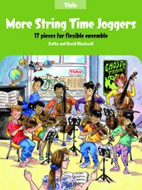 More String Time Joggers Viola book