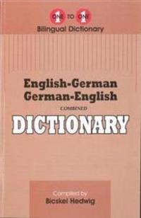 English-GermanGerman-English One-to-One Dictionary