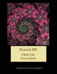 Fractal 581: Fractal Cross Stitch Pattern
