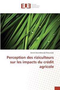 Perception des riziculteurs sur les impacts du crédit agricole