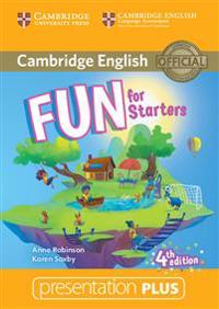 Fun for Starters. Presentation Plus DVD-ROM. 4th Edition
