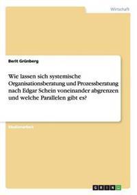 Wie Lassen Sich Systemische Organisationsberatung Und Prozessberatung Nach Edgar Schein Voneinander Abgrenzen Und Welche Parallelen Gibt Es?