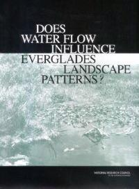 Does Water Flow Influence Everglades Landscape Patterns?