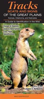 Mammals of the Great Plains: Kansas, Nebraska and Oklahoma: Tracks, Scats & Signs a Guide to Identification in the Wild
