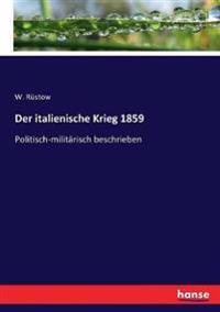 Der italienische Krieg 1859