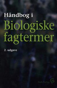 Håndbog i biologiske fagtermer
