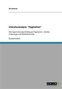 Literaturanalyse: Pygmalion
