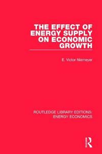 The Effect of Energy Supply on Economic Growth