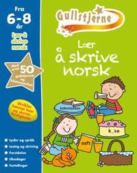 Lær å skrive norsk. 6-8 år