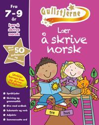 Lær å skrive norsk. 7-9 år. Gullstjerne - Kirsten Brustad, Betty Root | Ridgeroadrun.org