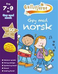 Gøy med norsk. 7-9 år. Gullstjerne - Kirsten Brustad   Inprintwriters.org