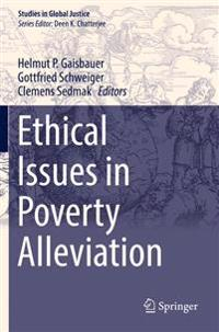 Ethical Issues in Poverty Alleviation
